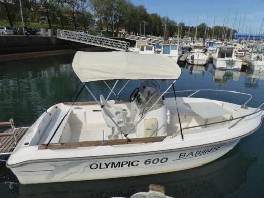 Ocqueteau Open Olympic 600 Diesel à Anglet entre particuliers
