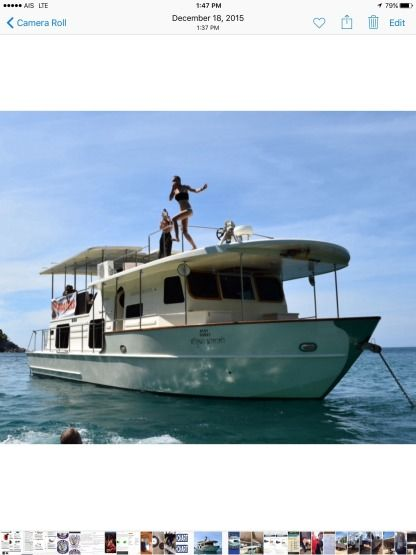 Charter Houseboat Custom 52 Ft Coastal Cruiser Langkawi