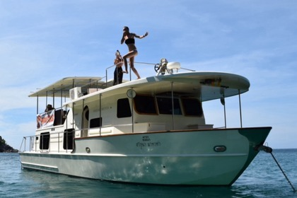Rental Houseboat Custom 52 ft coastal cruiser Langkawi