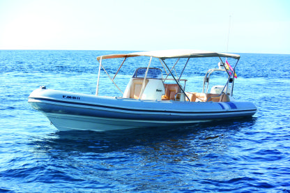 Rental RIB Picton Cobra 8M Mallorca