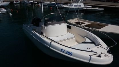 Rental Motorboat Saver Open 580 Tivat