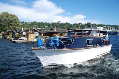Charter Motorboat Thomley Custom Seattle