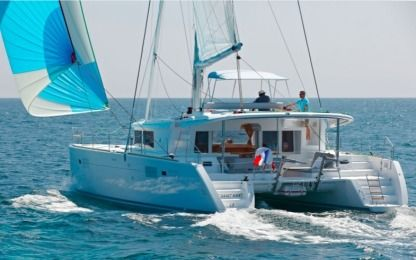 Rental Catamaran Lagoon 450 F Bright Moon Trogir