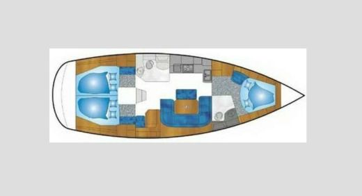 Sailboat Bavaria 39 Cruiser for rental