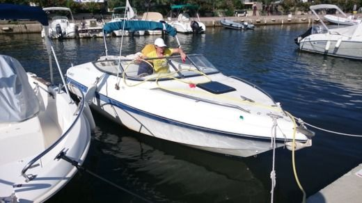 Motorboat Sunbird Cuddy 195 for hire