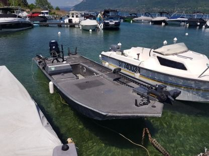 Rental Motorboat Duracraft 1648 Sv Bass Saint-Jorioz