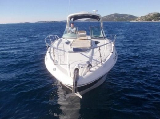 Motorboat Sea Ray 335 Sundancer for hire