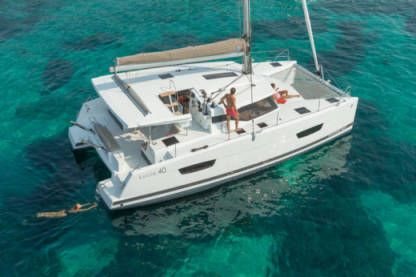 Location Catamaran Enjoy Madiba Catamaran Cannes