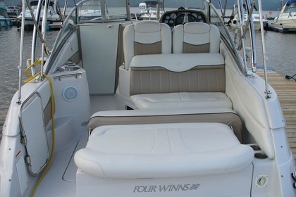 Rental Motorboat FOUR WINNS 258 VISTA Zadar