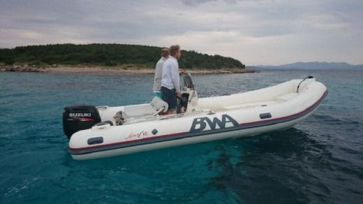 RIB Bwa 18 Sport Gt + Suzuki for hire