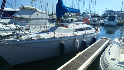 Sailboat Jeanneau Aquila for hire