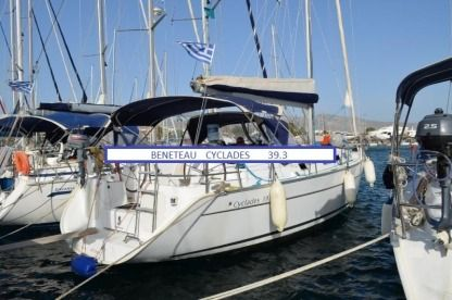Charter Sailboat Beneteau S Cyclades 39.3 With Skipper Santorini