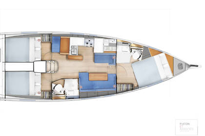 Rental Sailboat Jeanneau Sun Odyssey 410 Furnari