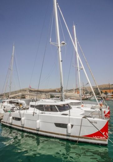 Lucia 40 Fountaine Pajot - Valeriia in Trogir for hire