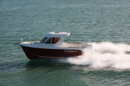 Rental Motorboat Quicksilver Arvor 280 Trebeurden
