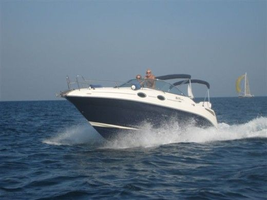 SEA RAY 255 SUNDANCER in Cogolin zu vermieten