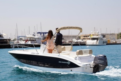 Charter Motorboat IDEA MARINE 58 OPEN LINE Alicante