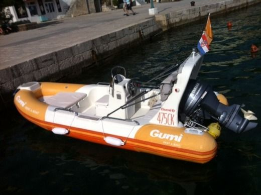 Remia Plast Nautica Rp16 in Baška for hire
