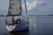 Sailboat G Carter 30 for hire