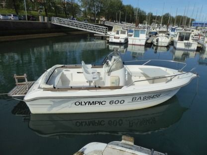Alquiler Lancha Ocqueteau Open Olympic 600 Diesel Anglet