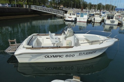 Hire Motorboat OCQUETEAU Open Olympic 600 Diesel Anglet
