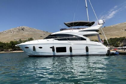 Charter Motorboat Princess 52 Fly Bodrum
