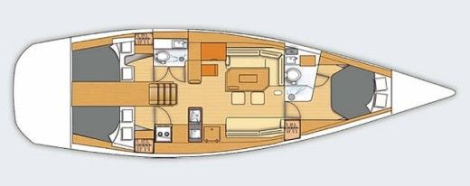 Sailboat Beneteau First 50 Coup De Tete peer-to-peer