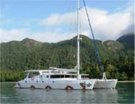Charter catamaran in Dili