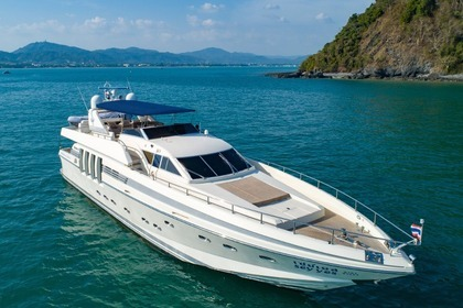Rental Motor yacht Posillipo Technema 82 Phuket