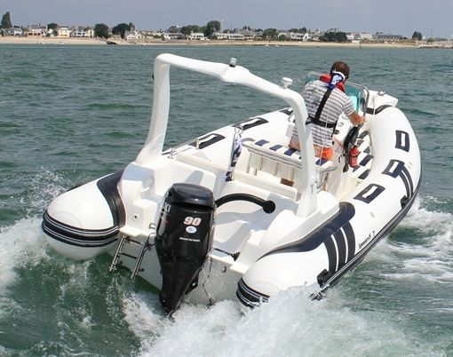 Aquastar-marine 600 Rib in Larmor-Plage for hire