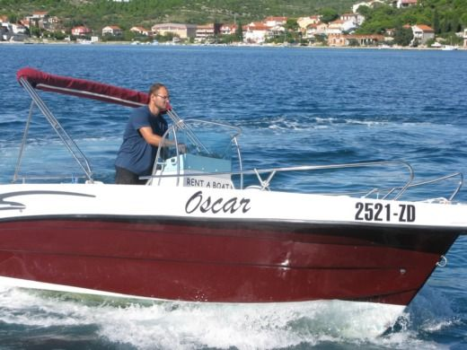 Motorboat Reful Flyer 22 Open