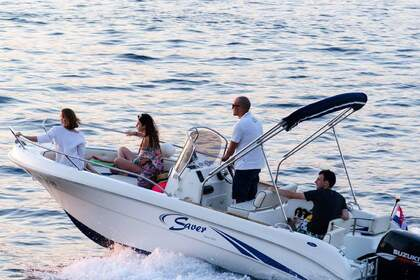 Rental Motorboat SAVER 550 OPEN Dubrovnik