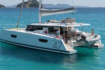 Verhuur Catamaran Fountaine Pajot 47 SAONA Laurion