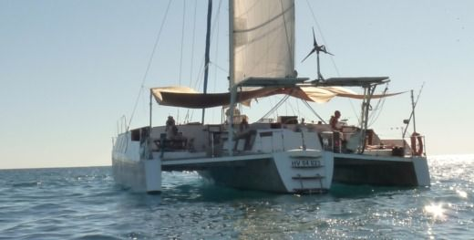 Charter catamaran in Nosy-Be