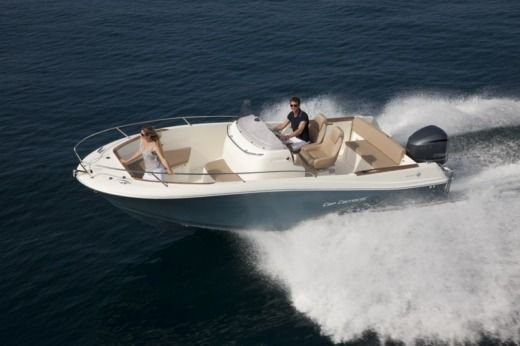 Jeanneau Cap Camarat 7.5 in Trogir for rental