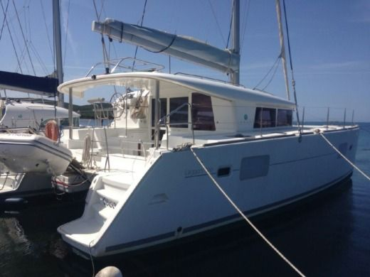Lagoon 400 in Ajaccio peer-to-peer