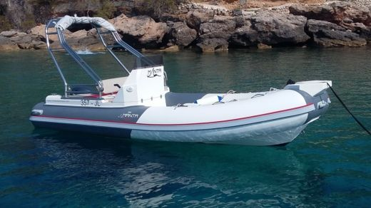 RIB Boat Manta 555 for hire