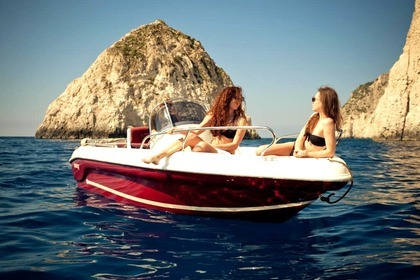Rental Motorboat RANIERI SHARK 19 Zakynthos