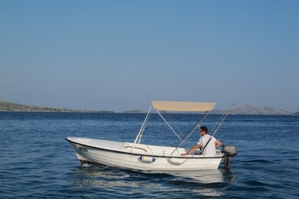 Charter Motorboat Custom Built Traditional Croatian Pasara Zaglav