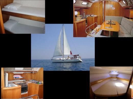 Charter Sailboat Dufour Gibsea 43 Catania