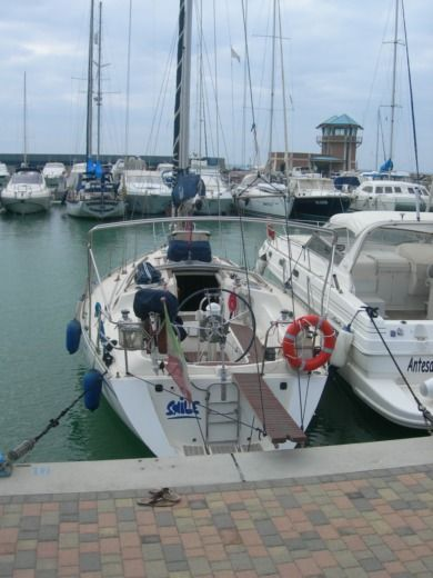 Charter sailboat in Marsala TP peer-to-peer