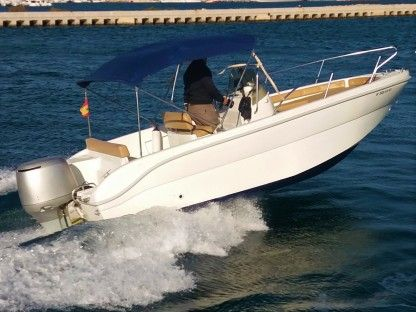 Rental Motorboat Saver 600 Open Torrevieja