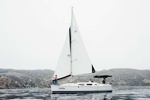 Charter sailboat in Long Beach
