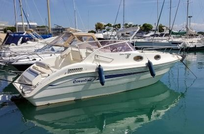 Charter Motorboat Coverline 640 Cabin Villeneuve-Loubet