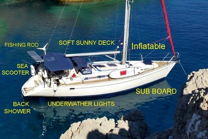 Hire Sailboat ELAN EXLUSIVE Split