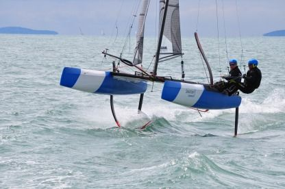 Location Catamaran Nacra F20 Fcs Marseille
