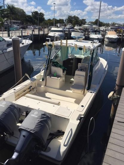 Miete Motorboot Pursuit 3070 Express Dania Beach