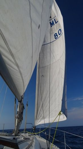 Charter sailboat in Mellieha peer-to-peer