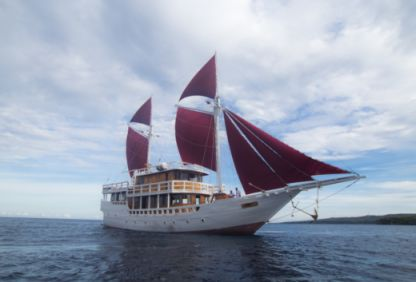 Charter Houseboat Hello Flores Gulet 25 M Komodo
