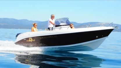 Charter Motorboat Pacific Craft Open 625 Arcachon